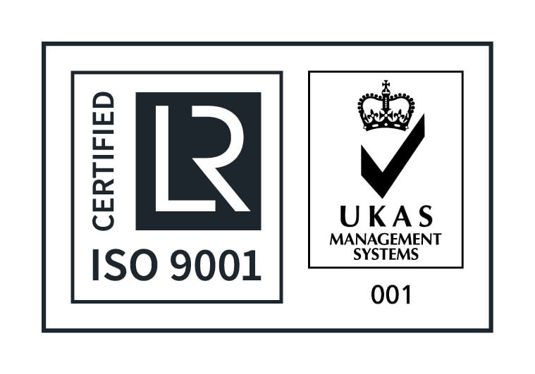 LRQA Approval Mark with UKAS